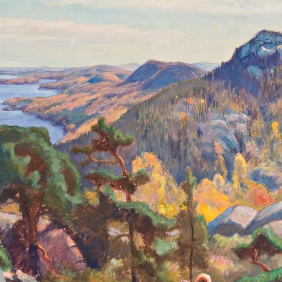 Eero Järnefelt, Kolilta, guassi, 1927