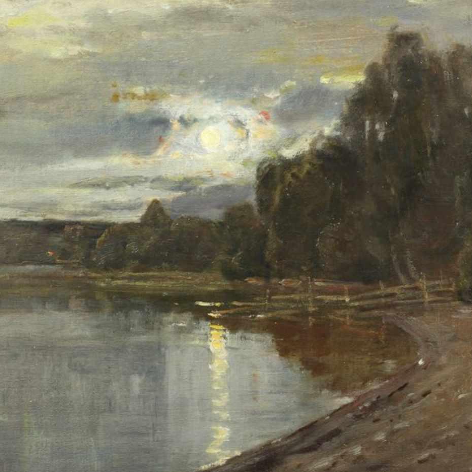 Elias Muukka, Kuutamomaisema